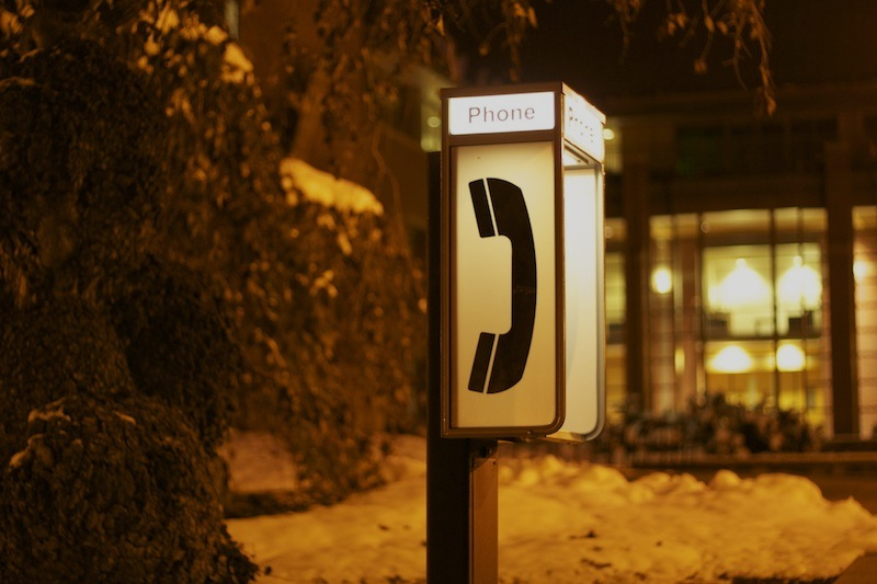 Phone Booth - Moscow, ID.